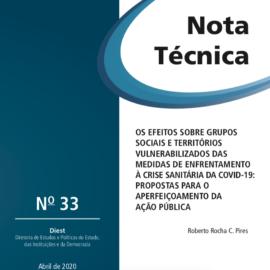 Os efeitos sobre grupos sociais e territórios vulnerabilizados das medidas de enfrentamento à crise sanitária da Covid-19